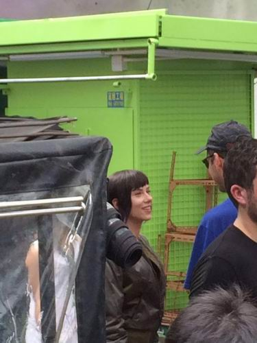 Film Live-Action Ghost in the Shell Ungkap Foto-foto Syuting di Hong Kong (1)
