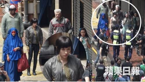 Film Live-Action Ghost in the Shell Ungkap Foto-foto Syuting di Hong Kong