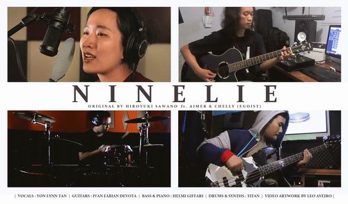 [LOCAL BAND] Video Cover NINELIE, Kolaborasi Personil J-Band Indonesia & Malaysia2