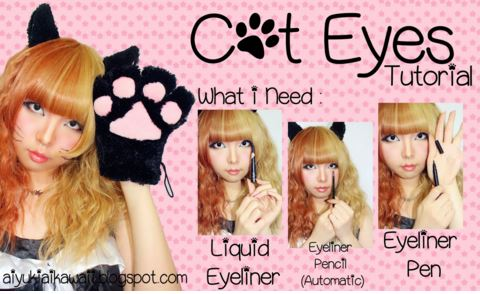 #JSnavigator Aiyuki Aikawa Diary ~ Cat Eyes Tutorial (1)