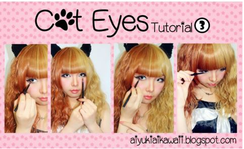 #JSnavigator Aiyuki Aikawa Diary ~ Cat Eyes Tutorial (3)