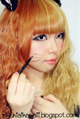 #JSnavigator Aiyuki Aikawa Diary ~ Cat Eyes Tutorial (4)