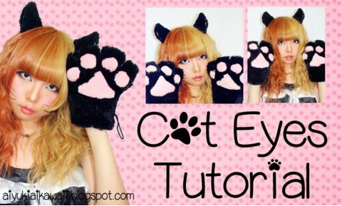 #JSnavigator Aiyuki Aikawa Diary ~ Cat Eyes Tutorial (5)