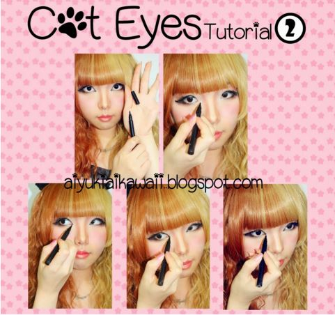 #JSnavigator Aiyuki Aikawa Diary ~ Cat Eyes Tutorial (6)
