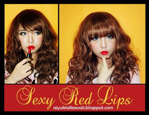 #JSnavigator Aiyuki Aikawa Diary ~ Japanese Gyaru Make-up & Hairstyle Tutorial (30)