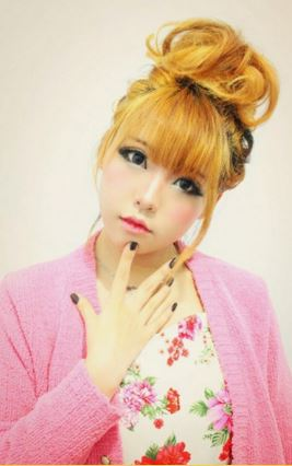 #JSnavigator Aiyuki Aikawa Diary ~ Japanese Gyaru Make-up & Hairstyle Tutorial (38)