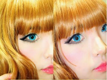 #JSnavigator Aiyuki Aikawa Diary ~ Japanese Gyaru Make-up & Hairstyle Tutorial (39)