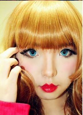 #JSnavigator Aiyuki Aikawa Diary ~ Japanese Gyaru Make-up & Hairstyle Tutorial (40)