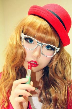 #JSnavigator Aiyuki Aikawa Diary ~ Japanese Gyaru Make-up & Hairstyle Tutorial (41)