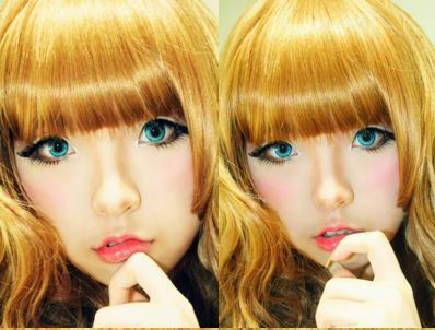 #JSnavigator Aiyuki Aikawa Diary ~ Japanese Gyaru Make-up & Hairstyle Tutorial (42)