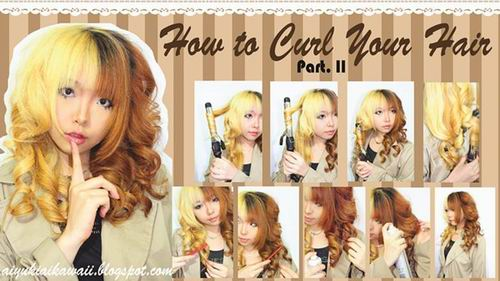 #JSnavigator Aiyuki Aikawa Diary ~ Japanese Gyaru Make-up & Hairstyle Tutorial (47)