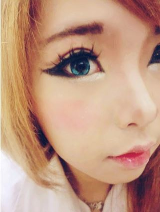 #JSnavigator Aiyuki Aikawa Diary ~ Japanese Gyaru Make-up & Hairstyle Tutorial (7)