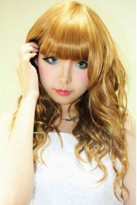#JSnavigator Aiyuki Aikawa Diary ~ Japanese Gyaru Make-up & Hairstyle Tutorial (8)