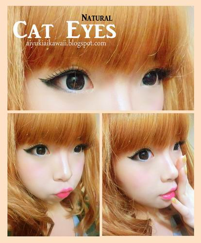 #JSnavigator Aiyuki Aikawa Diary ~ Natural Cat Eyes Tutorial (1)