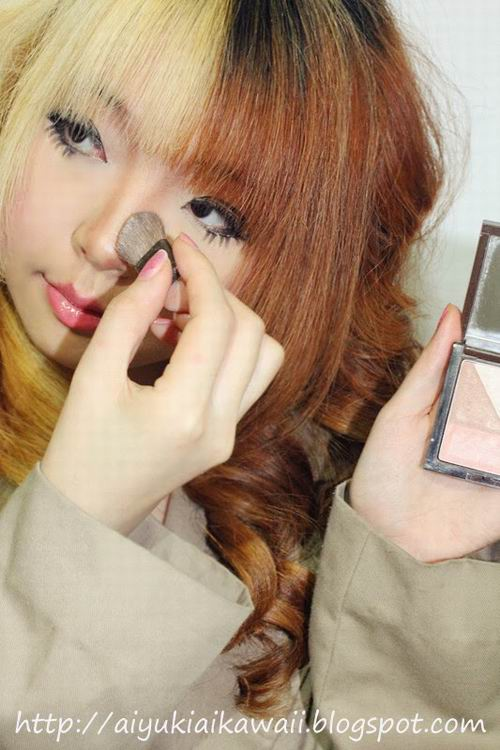#JSnavigator Aiyuki Aikawa Diary ~ Simple & Natural Make-up Tutorial (10)