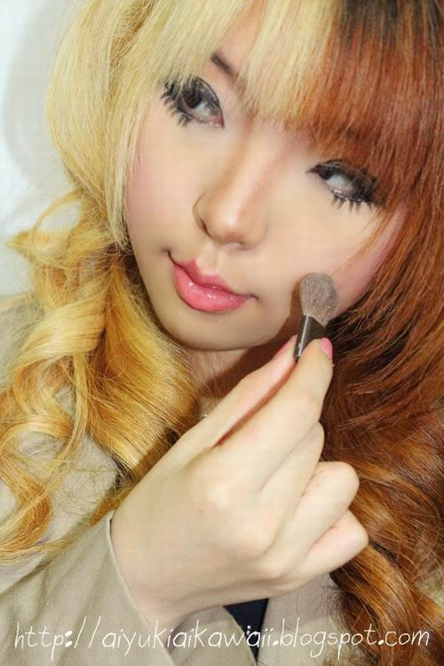 #JSnavigator Aiyuki Aikawa Diary ~ Simple & Natural Make-up Tutorial (11)