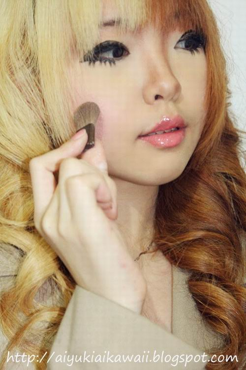 #JSnavigator Aiyuki Aikawa Diary ~ Simple & Natural Make-up Tutorial (2)