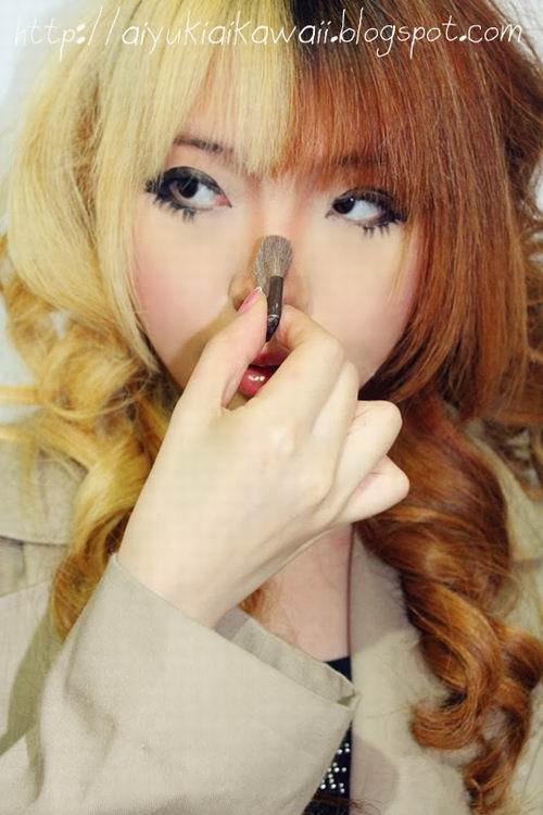 #JSnavigator Aiyuki Aikawa Diary ~ Simple & Natural Make-up Tutorial (4)