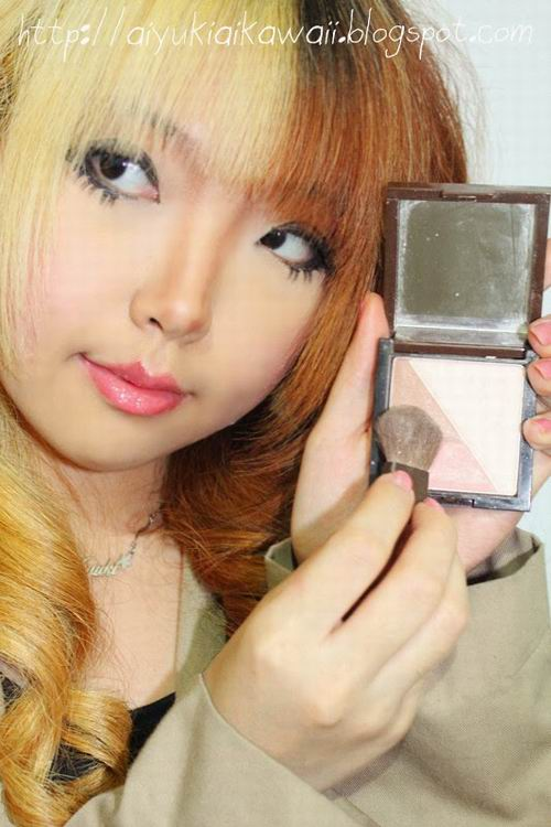 #JSnavigator Aiyuki Aikawa Diary ~ Simple & Natural Make-up Tutorial (5)