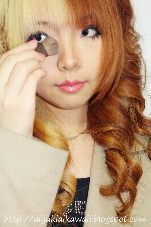 #JSnavigator Aiyuki Aikawa Diary ~ Simple & Natural Make-up Tutorial (6)