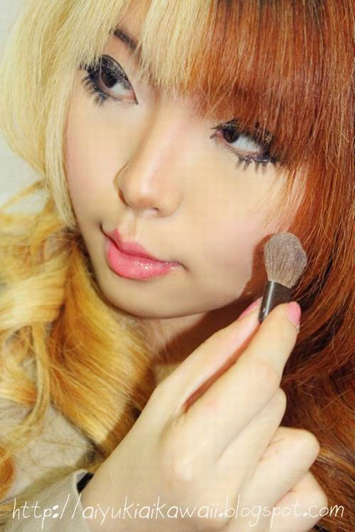 #JSnavigator Aiyuki Aikawa Diary ~ Simple & Natural Make-up Tutorial (7)