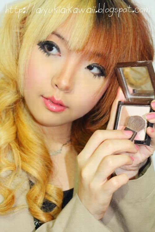 #JSnavigator Aiyuki Aikawa Diary ~ Simple & Natural Make-up Tutorial (8)