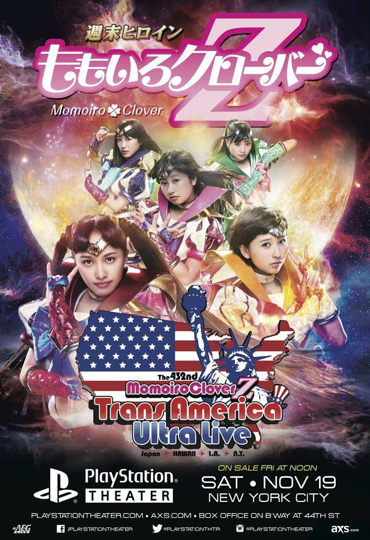 Momoiro Clover Z Ungkap Poster dan Detil Tour AS