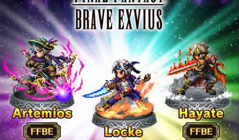 Locke Final Fantasy VI Jadi Playable Character di Final Fantasy Brave Exvius