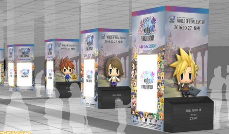 Figur Raksasa World of Final Fantasy Akan Ramaikan Shibuya Station