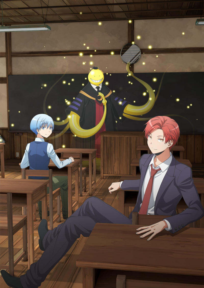 Key visual art 3 Assassination Classroom the Movie (Source: http://http://ansatsu-anime.com/)