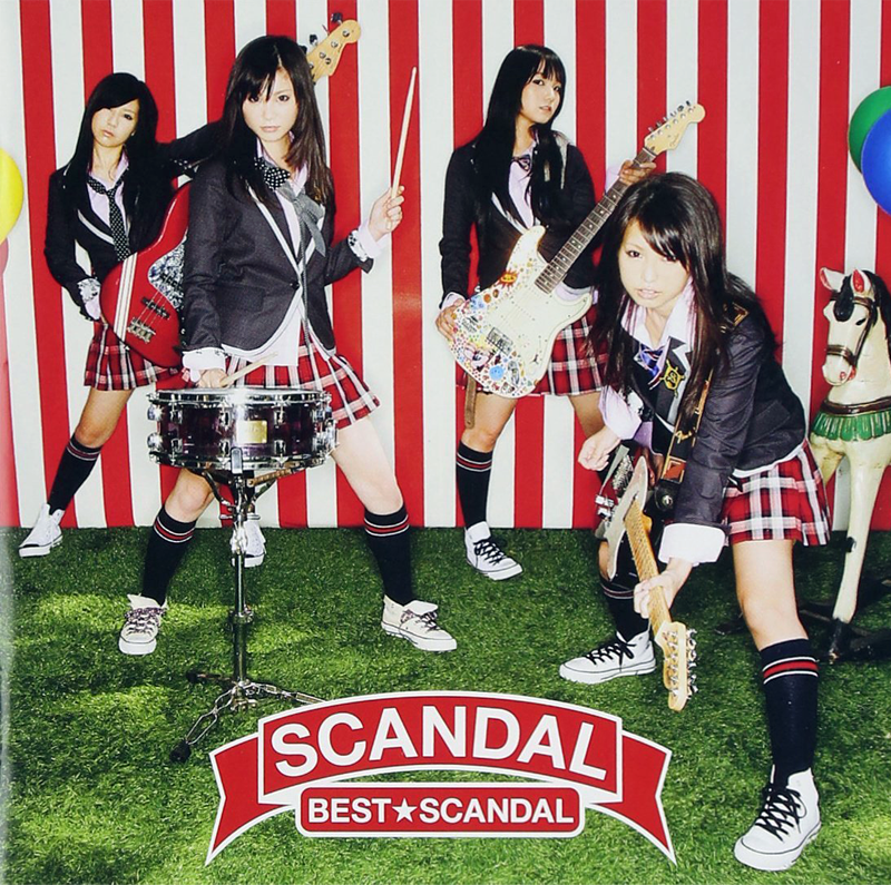 "Cover album ""BEST★SCANDAL"" (Image: amazon.co.jp)"