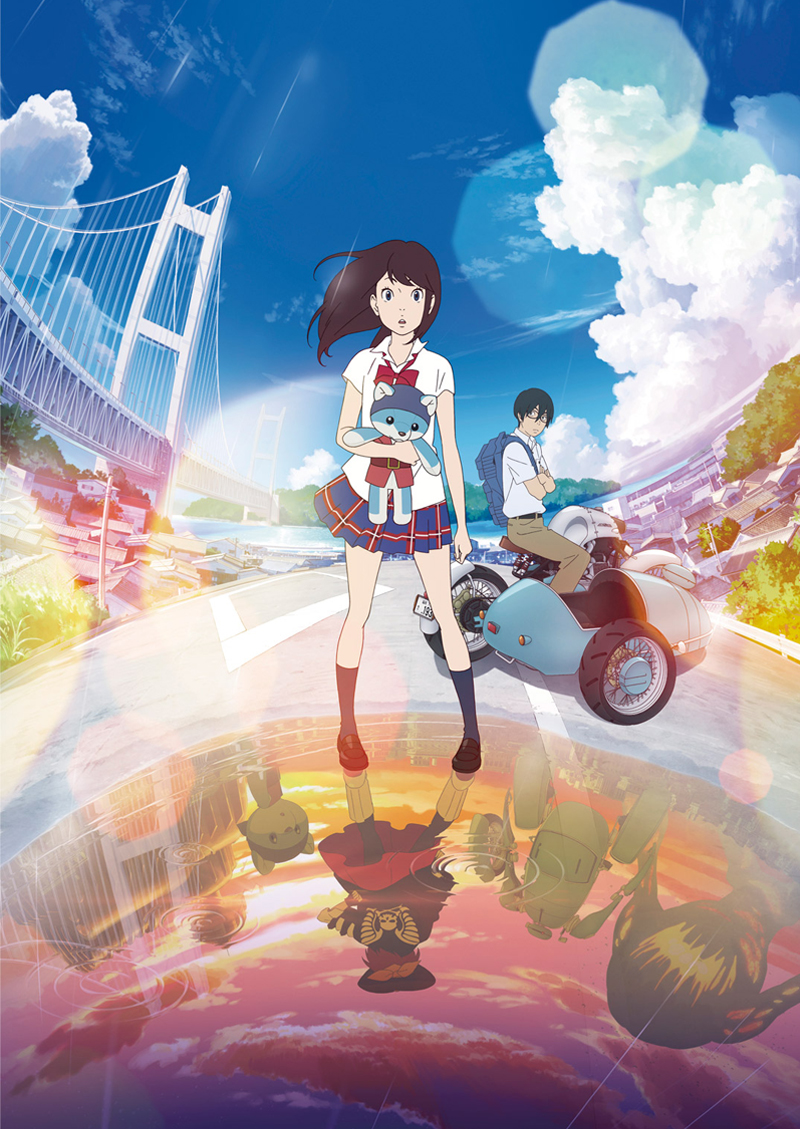 Film Anime Hirune Hime Rilis Main Visual Illustration Kedua