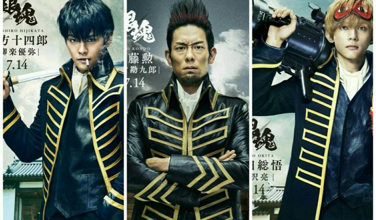 Film Live-Action Gintama Tampilkan Visual Karakter Anggota Shinsengumi