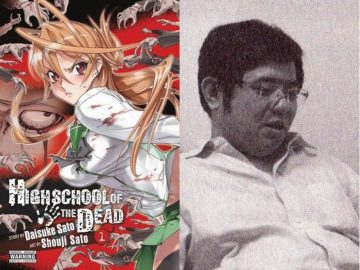 Mangaka High School of the Dead