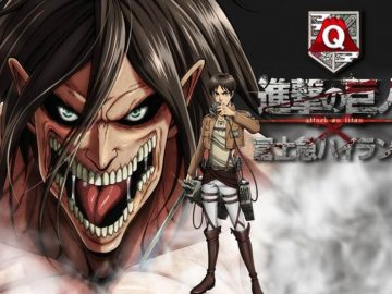 Wahana Attack on Titan