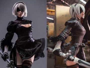 Cosplayer Nier: Automata