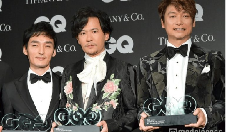 3 Mantan Anggota SMAP Raih Penghargaan GQ Men of The Year Awards