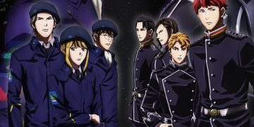 Anime The Legend of the Galactic Heroes: Die Neue These Telah Rilis Video Trailer Keduanya