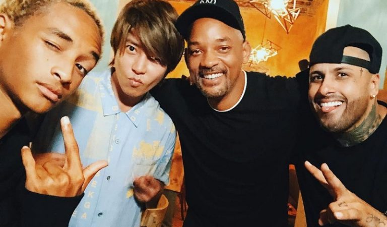 Aktor Will Smith Unggah Foto dan Video Bersama Tomohisa Yamashita Di Akun Instagram