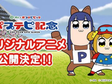 Pop Team Epic Akan Buat Net Anime Baru, Bersama Japan Racing Association