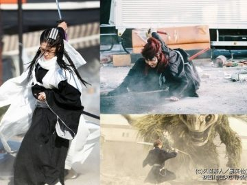 Film Live-Action Bleach Rilis 3 Video Trailer Highlight Tokoh Kuchiki Byakuya, Abarai Renji Serta Hollow