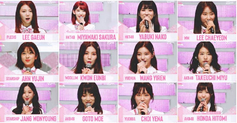 Rumor Team PRODUCE 48 PRODUCE 48 di 2019 t
