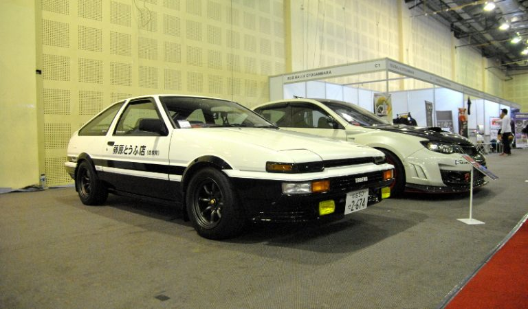 "Ada Penampakan ""Hachi-Roku Initial D"" di Indonesia Modification Expo 2018"