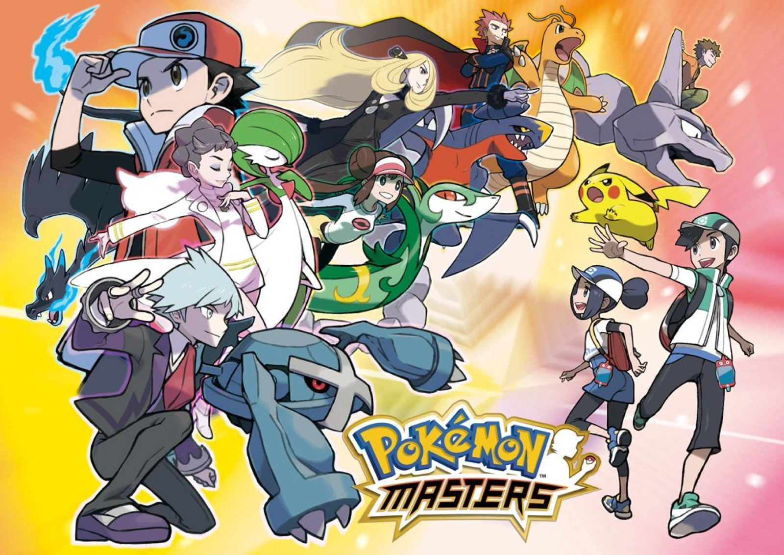 Game Pokemon Masters
