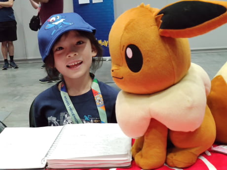 Simone Lim, Juara Trainer Pokemon Junior
