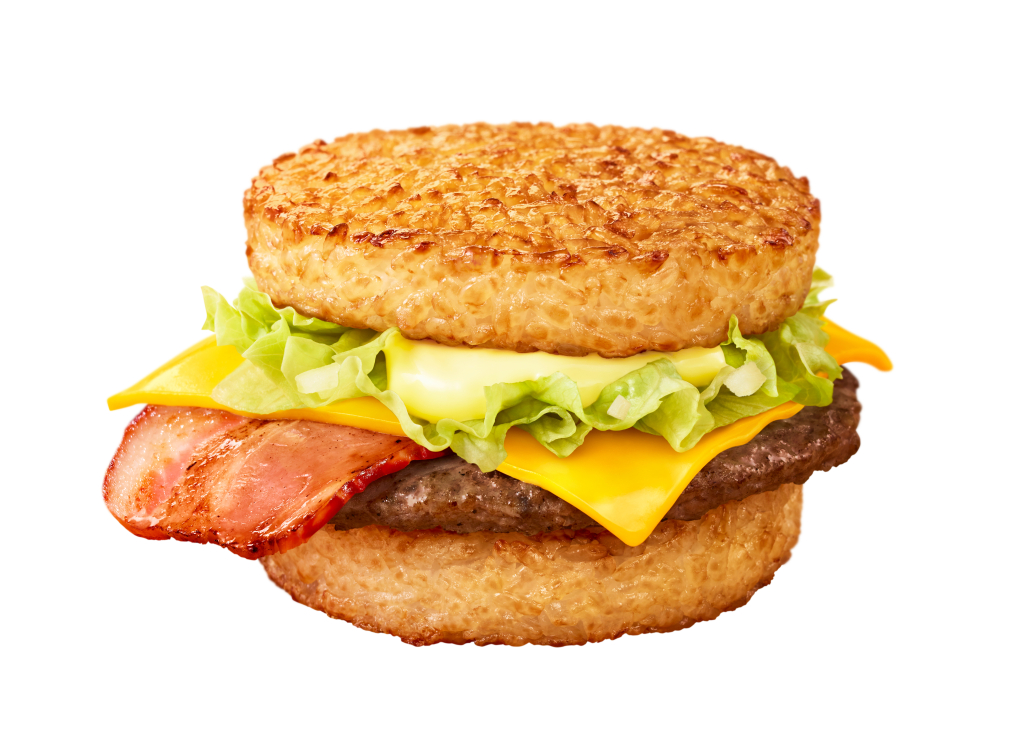 Gohan Bacon Lettuce (Foto:https://soranews24.com/2020/01/28/mcdonalds-releases-new-rice-burgers-in-japan/)