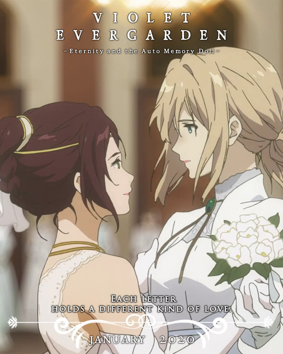 Netflix Tayangkan Violet Evergarden I: Eternity dan Auto Memory Doll Anime pada 2 April