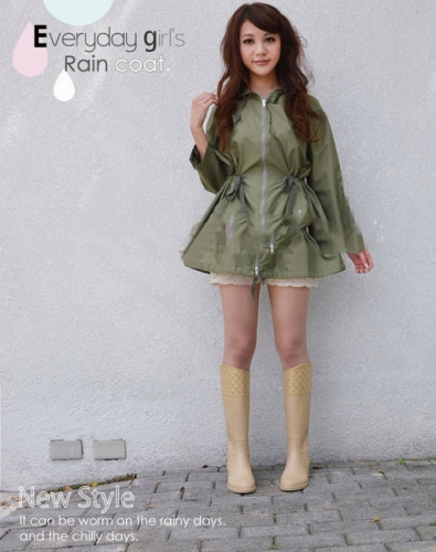 3b Japanese-Cute-Korean-Fashion-Personality-Outdoor-Female-Adult-font-b-Raincoat-b-font-Poncho-Coat-Poncho