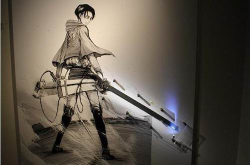 Attack on Titan Exhibit peek (13)