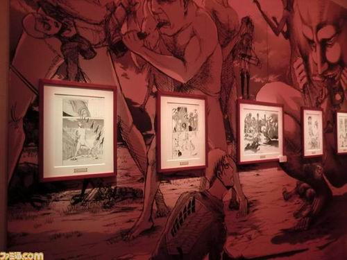 Attack on Titan Exhibit peek (5)